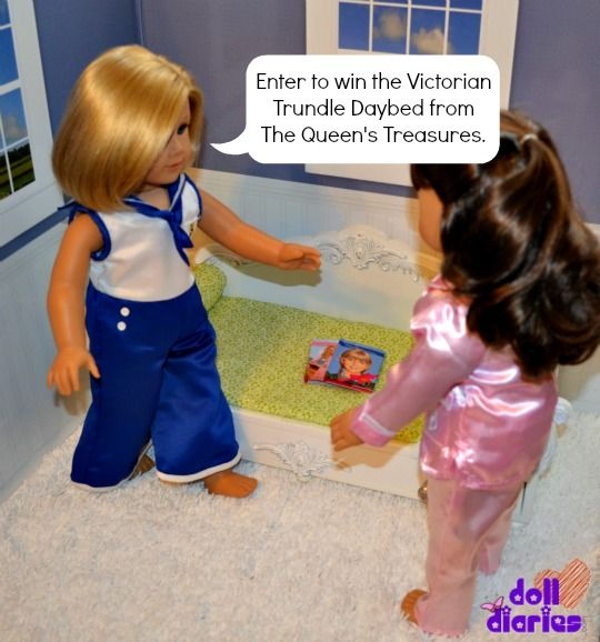 Enter to Win: The Queen's Treasures Victorian Daybed Trundle from Doll Diaries!