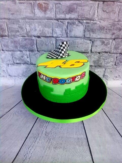 35 best Valentino Rossi Birthday cakes themed images on