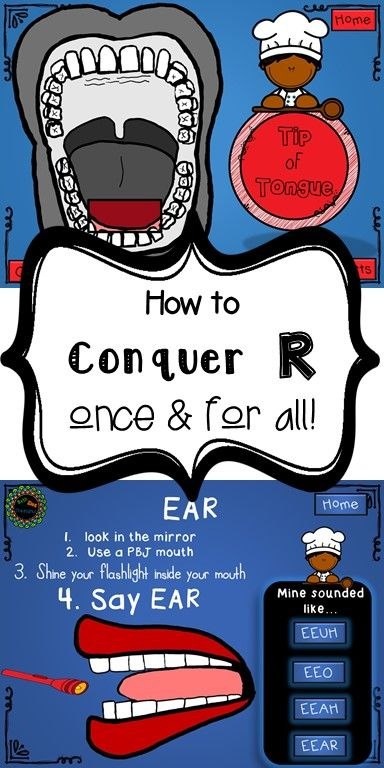 Step by step how to fix the most stubborn R. Interactive no print for kids. (with the help of an SLP) Use on a computer, iPad or smartboard. Start dismissing your R caseload as they use these steps to correct those Rs!