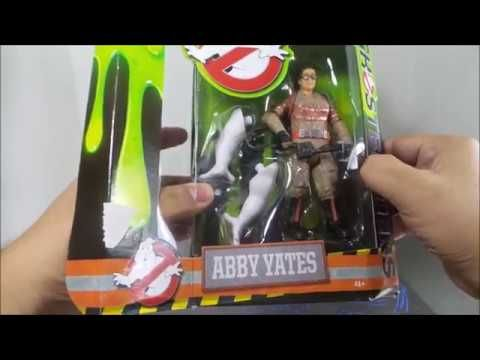 Mattel Ghostbusters Action Figure Abby Yates Review