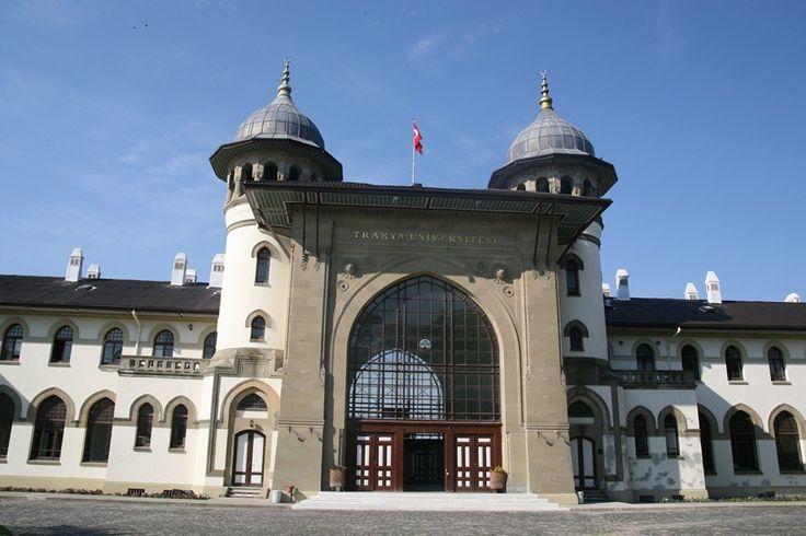 Tarihi Gar Binası - Edirne, Türkiye