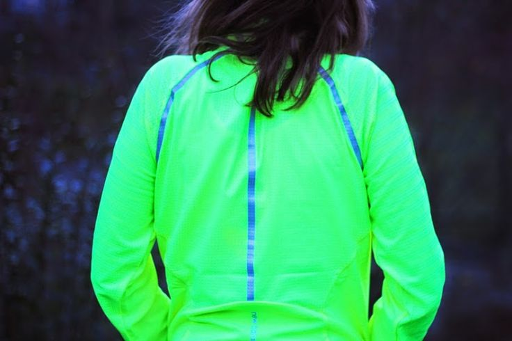 sport jacke new balance neon gelb