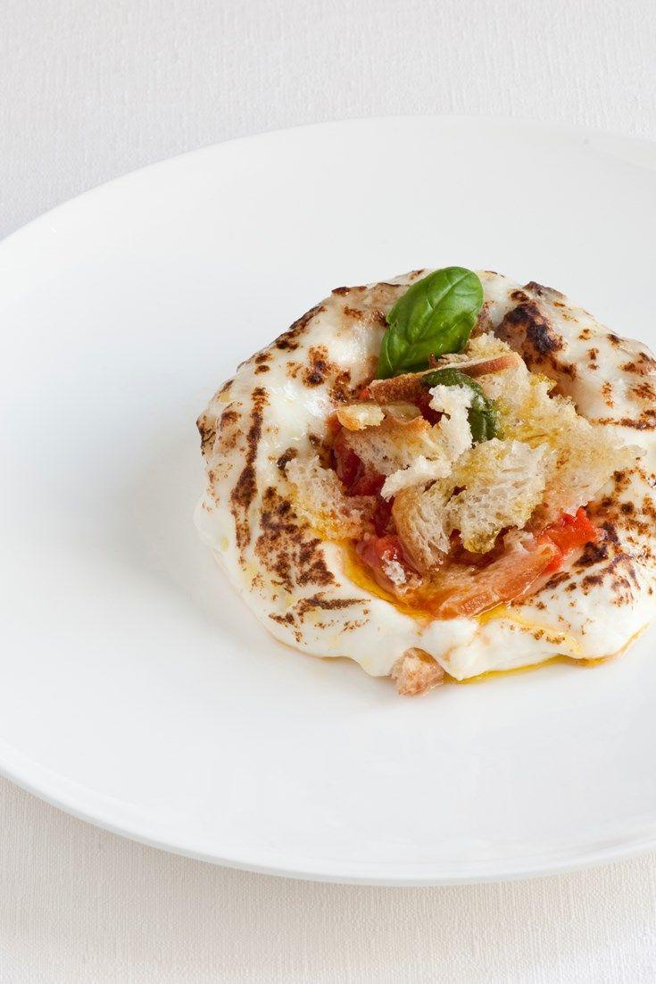 This indulgent pizza recipe is the perfect way to showcase fresh Italian buffalo mozzarella.
