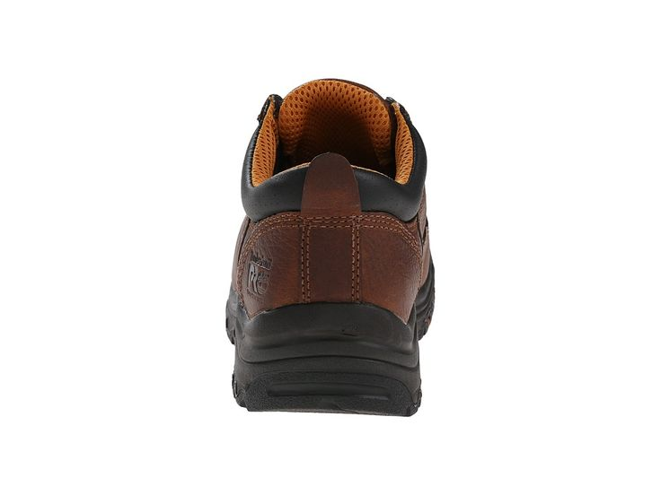Timberland PRO TiTAN(r) Oxford Alloy Safety Toe Women's Industrial Shoes Brown Full-Grain Leather