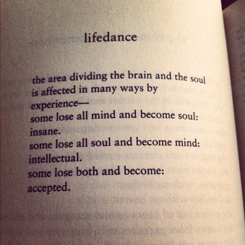 the are dividing the brain and the soul is affected in many ways by experience