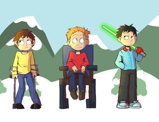 Jimmy Timmy Kevin -South Park