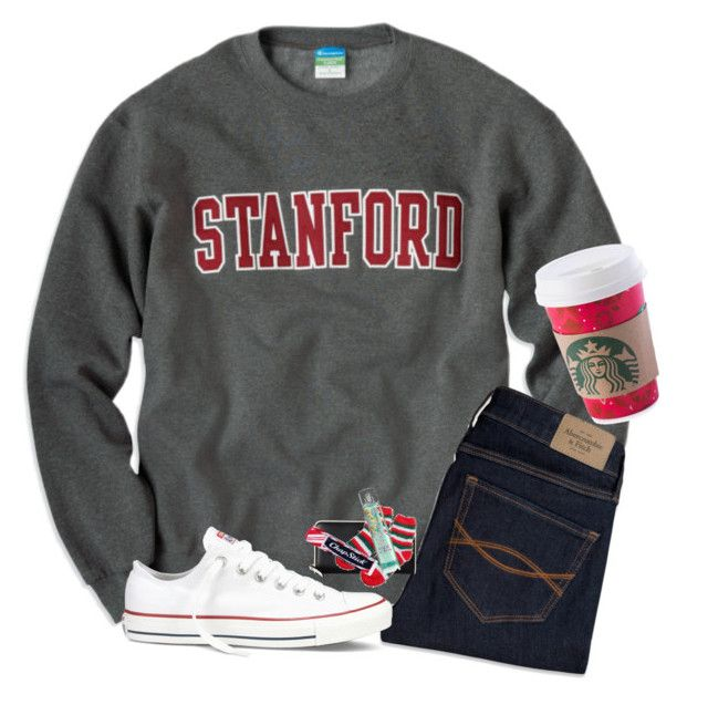 """""""Rtd"""" by ab1525 ❤ liked on Polyvore featuring Abercrombie & Fitch, Converse, Kate Spade and Chapstick"""