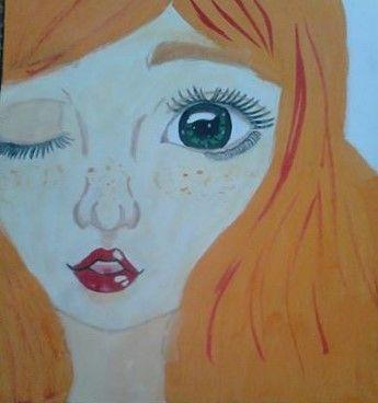 színes arc