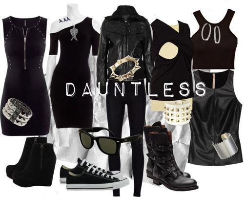 This is really what I want to wear. Plus I'm Dauntless so, yeah.