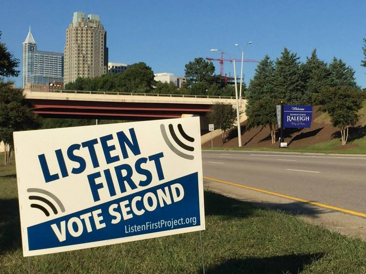 Greatest Story Creative for Non-Profit Organizations | Political Yard Signage | (A)political Yard Signs in Raleigh, North Carolina
