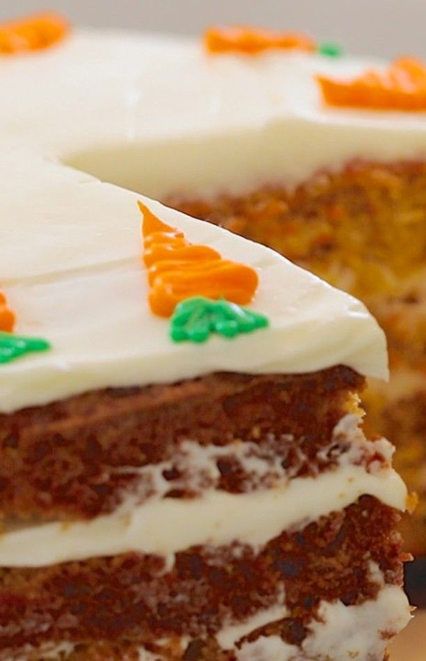 Bigger Bolder Baking On Instagram If It S Nationalcarrotcakeday You Need To Make The Best Try My Best Ever In 2020 Carrot Cake Recipe Cake Recipes Cake Recipes Uk