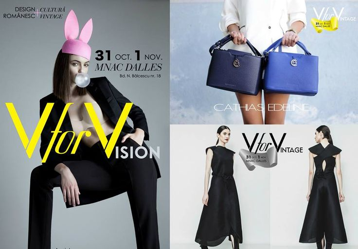 V for VISION – The unconventional, a visionary's greatest tool. Vision at #vforvintage15, as represented by Cathias Edeline, Bianca Popp and many more. #vforvision