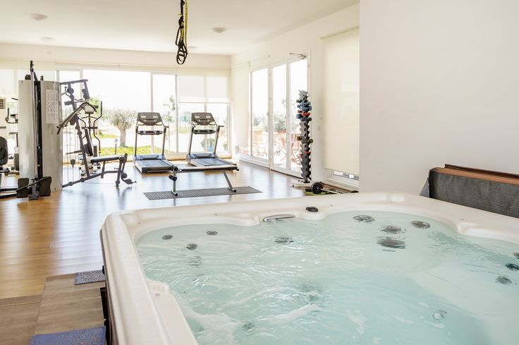 If you wish to kickstart your fitness regime or just carry on working out whilst on holiday, Thalassa Beach resort is the place to do it... with a well supplied gym, large swimming pool, the beautiful med and extensive off road tracks for cycling or running... you have everything you need.