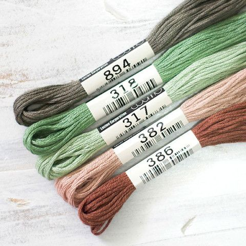 Cosmo Embroidery Floss Collection - Woodlandia