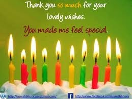 15 best thank youbirthday wishes images on pinterest happy b day thank you for the birthday wishes i have the best family and friends still m4hsunfo