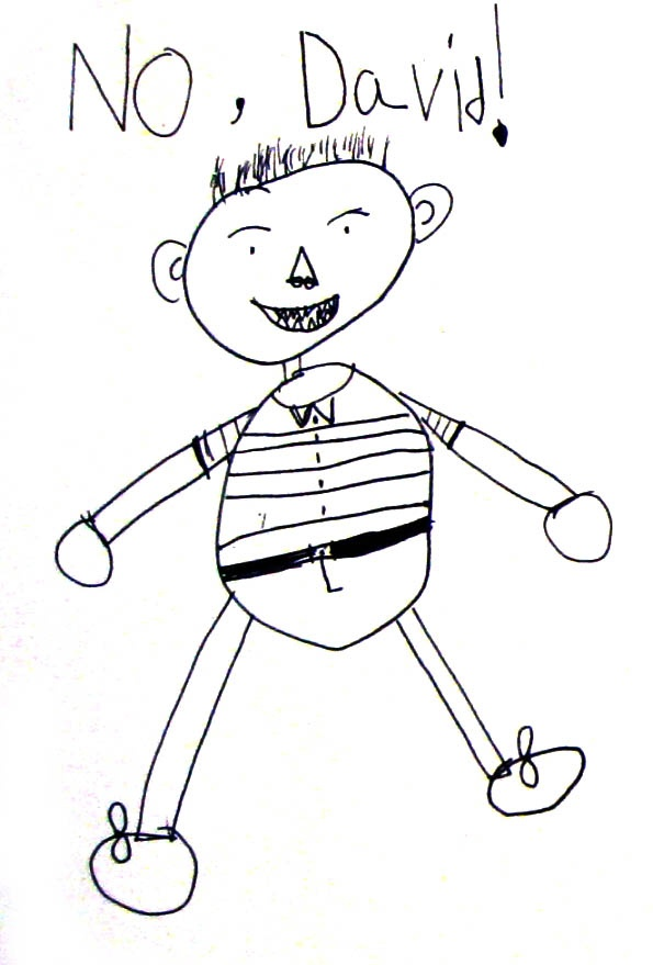 """Guided drawing activity for the book """"No, David!"""" by David Shannon"""