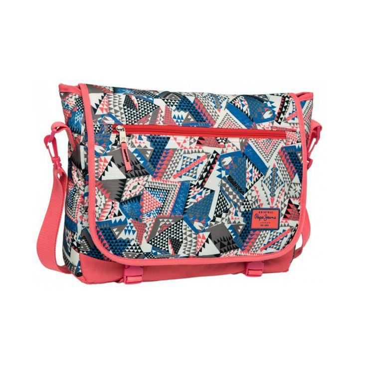Чанта Pepe Jeans Geometric за през рамо