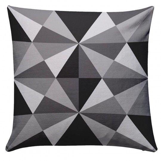 German Munich Bogenhausen Grey Cushion
