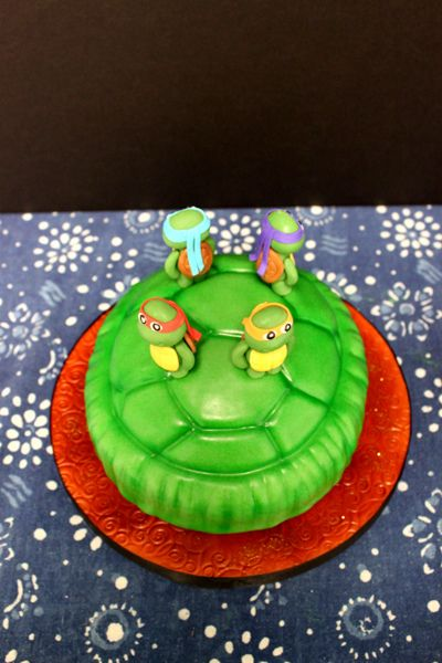 tmnt birthday cakes | Teenage Mutant Ninja Turtles Birthday Cake | Flickr - Photo Sharing!