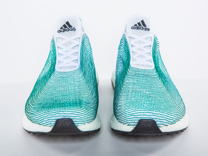 Adidas, Parley Create World's First Sneakers Made From Ocean Tras...