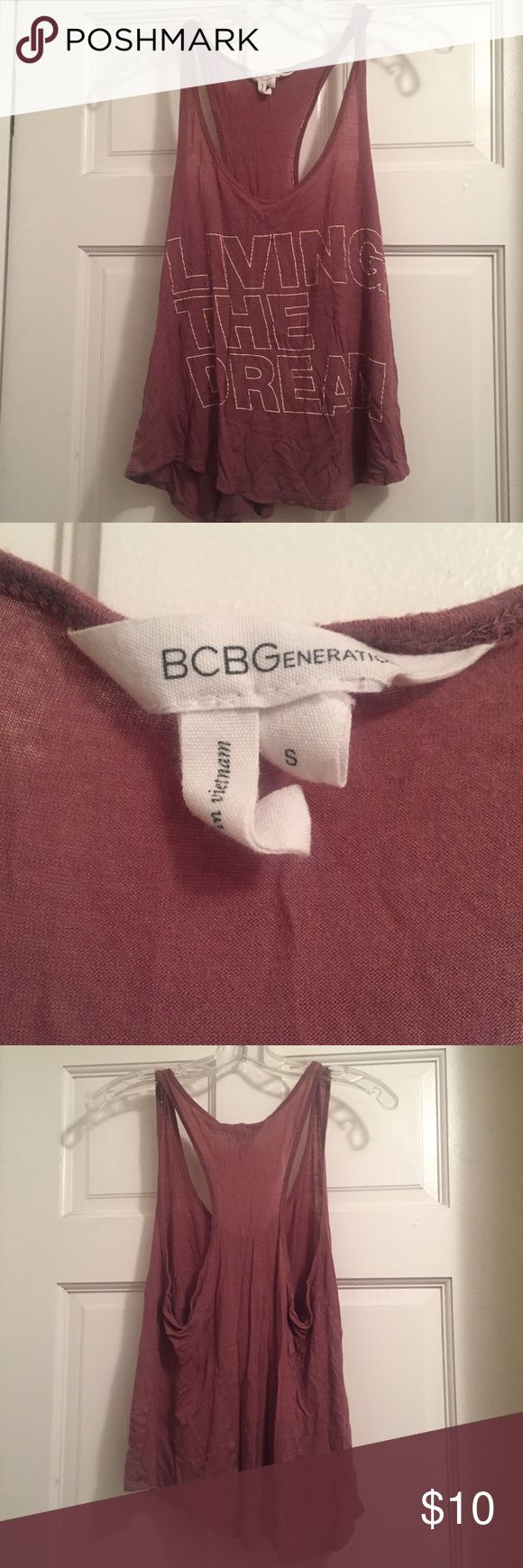 BCBG Loose Tank Loose tank top, perfect with a bandeau BCBGeneration Tops Tank Tops