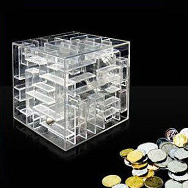 Laberinto de dinero Moneda Caja Puzzle Game Premio de ahorro de Banco 519454 2016 – €11.75