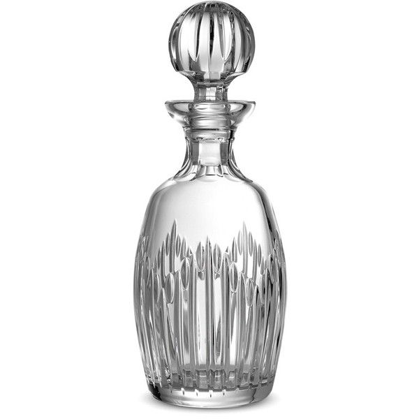 Monique Lhuillier Waterford 'stardust' Lead Crystal Decanter & Stopper ($295) ❤ liked on Polyvore featuring home, kitchen & dining, bar tools, clear, wine stoppers, lead crystal wine decanter, lead crystal decanter, modern decanter and waterford decanter