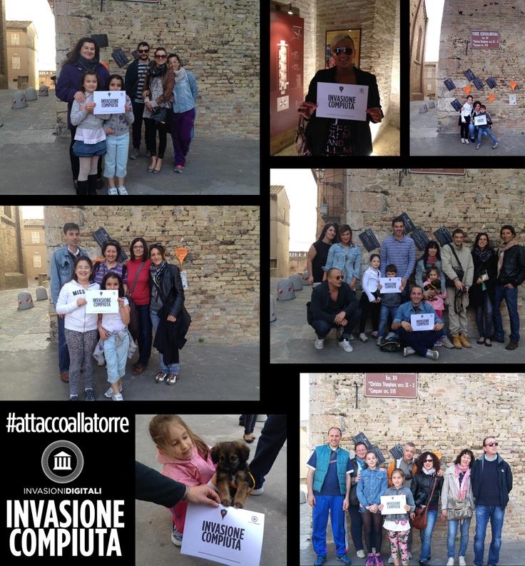 #InvasioneCompiuta #attaccoallatorre #InvasioniDigitali Grazie a tutti gli #Invasori! @InvasioniDigitali