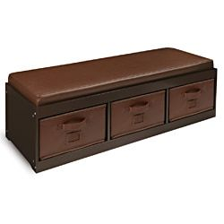Shop for Espresso Kid's Storage Bench with Espresso Bins and more for everyday discount prices at Overstock.com - Your Online Baby Furniture Store!