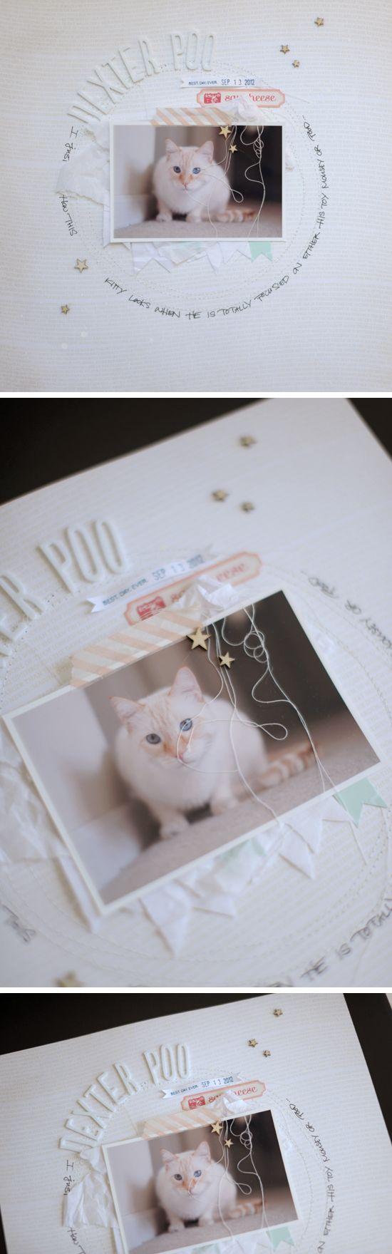 #papercraft #scrapbook #layout.  swissgirlDesigns - Scrapbooking blog