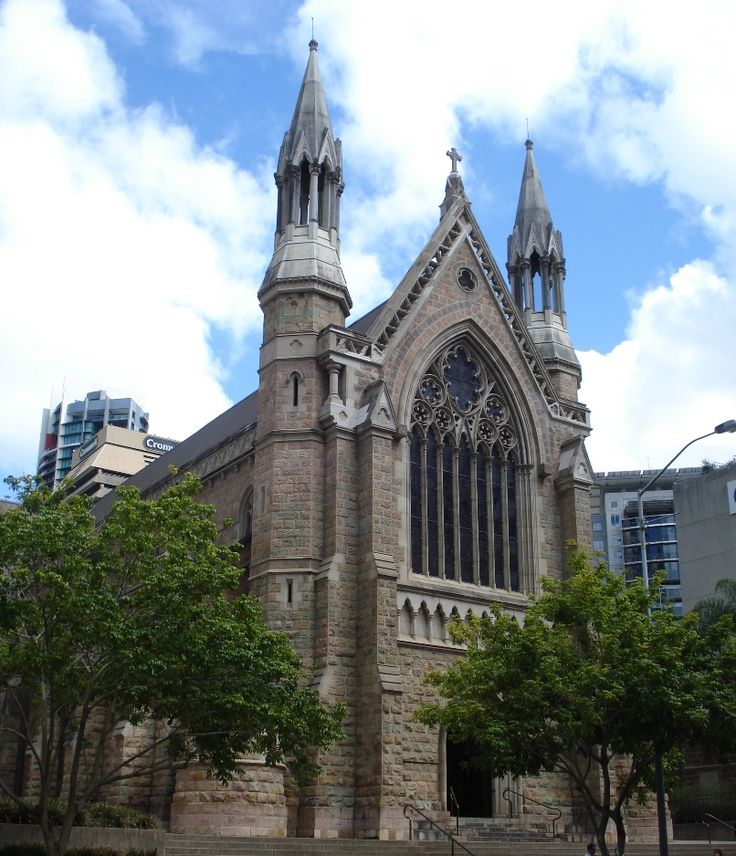 A cathedral in Brisbane. #Australia #Excursion