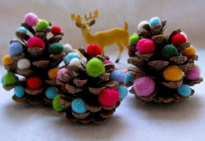 great idea to make with the kids for the Christmas tree