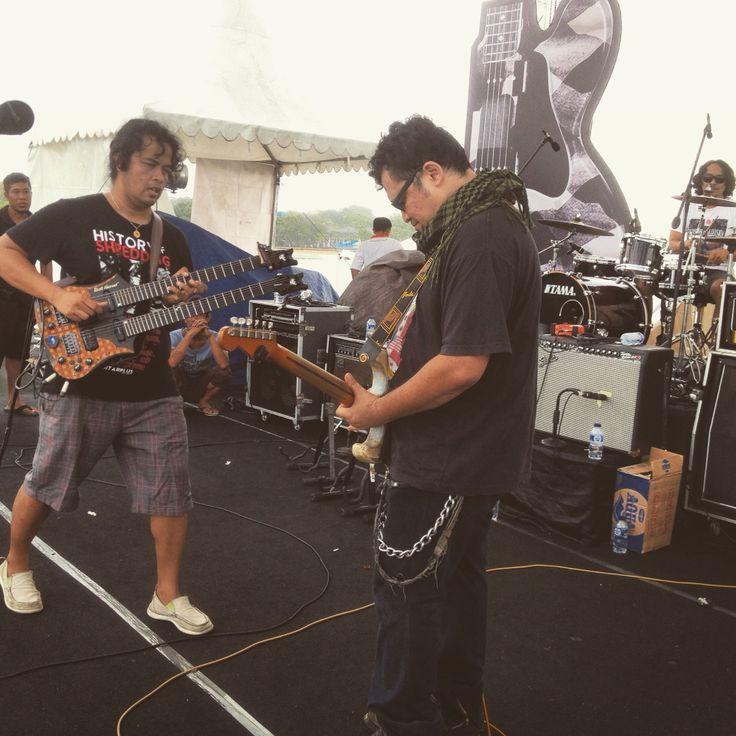 #BaliBluesFest2015 #PeninsulaIsland #NusaDua #Bali w/ #AriaBaron #Balawan #DenySurya