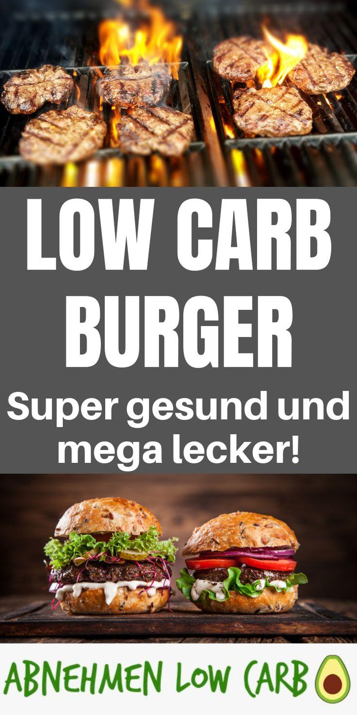 Dieses Rezept wirst du lieben! Die besten Low Carb Burger die du je gegessen has…