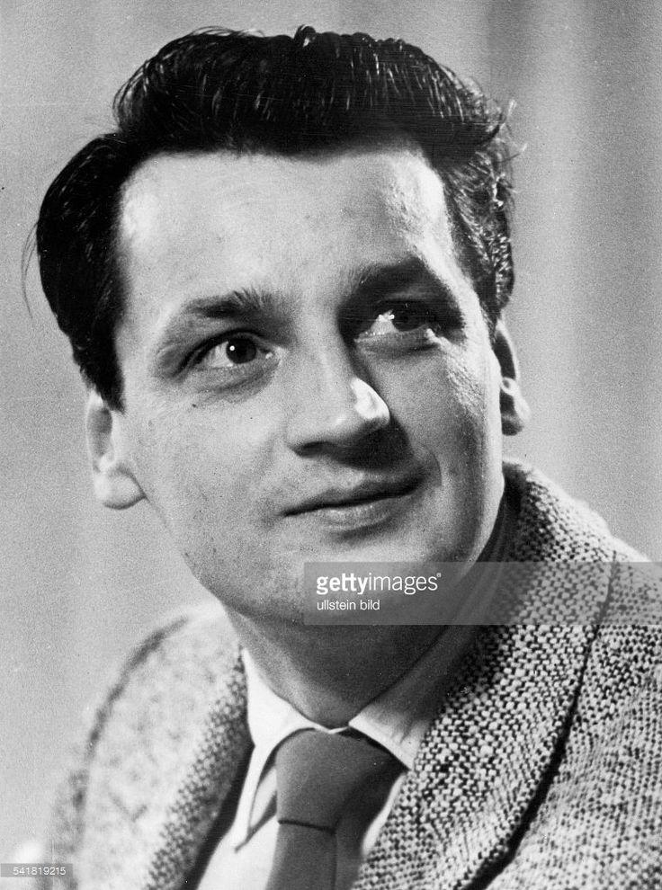 Schauspieler, Regisseur, DDR / DPorträt- 1950er Jahre