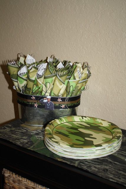 """Photo 6 of 27: Military / Birthday """"Army Party"""" 