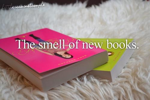 :) to prawda, niezapomiany zapach ksiazek i ksiegarni