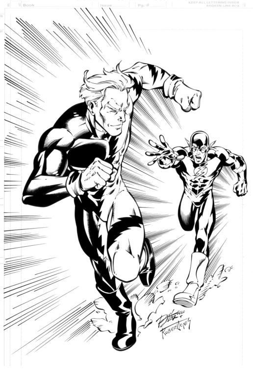 Quicksilver comic drawings | Quicksilver Faster Than Flash by VergilAngelo