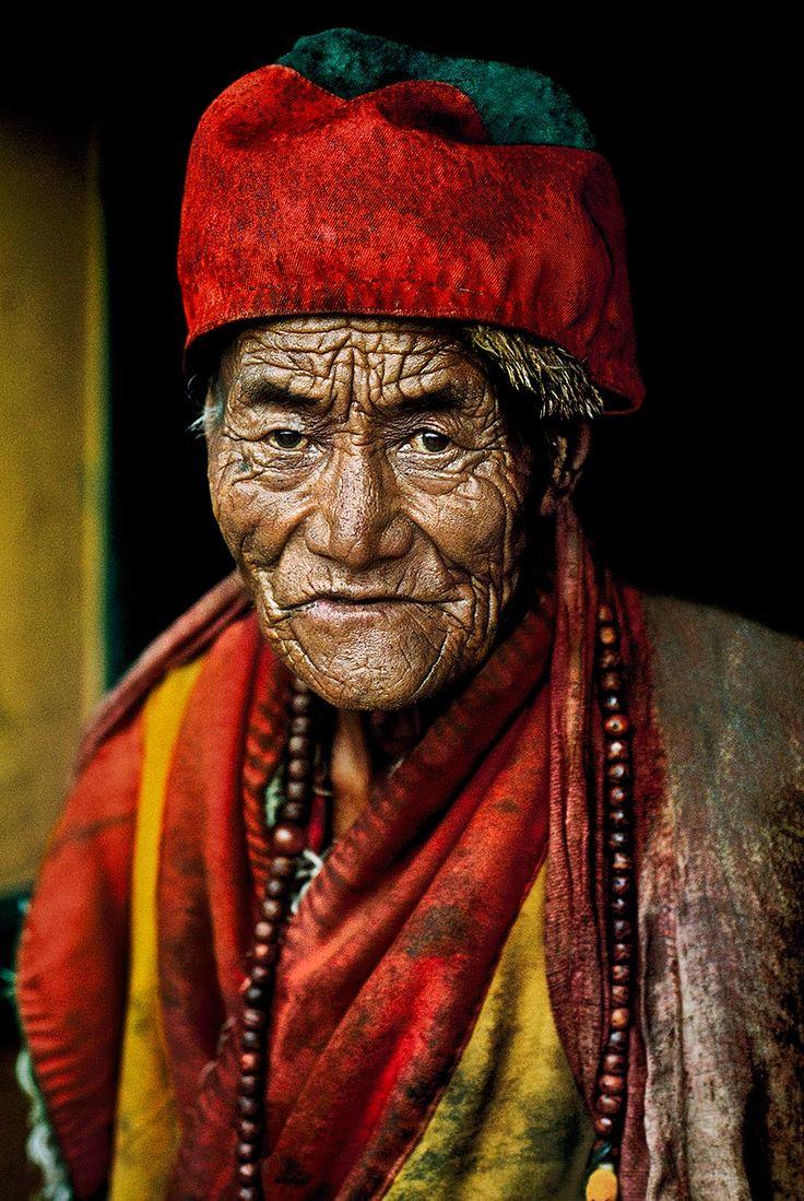 Monk at Jokhang Temple    TIBET-10009