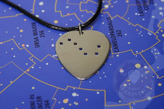 Constellation necklace Ursa-major necklace Star by AmulettaHu