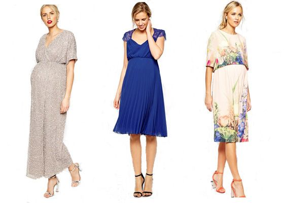 4 Sources For Stylish And Affordable Maternity Wedding Guest Attire Daily Mom Asos