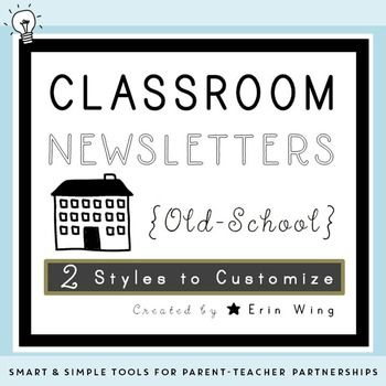 32 Best Classroom Newsletter Templates Images On Pinterest