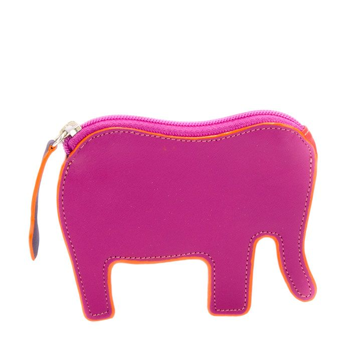 Seeing pink elephants? You bet! Love the cute new elephant coin purse in my favourite Sangria Multi.