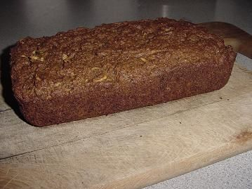 This applesauce bread is an amazing base to make zucchini or carrot bread(with raisins, yum) or you can always just leave it applesauce! So moist and HEALTHY :)