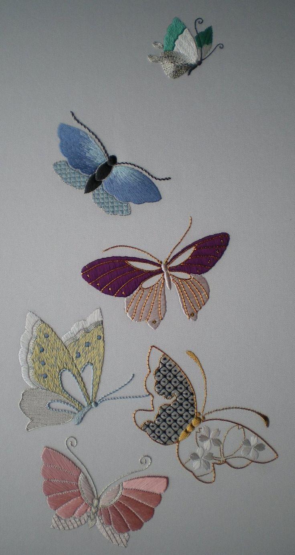 Threads Across the Web: Flutterbies