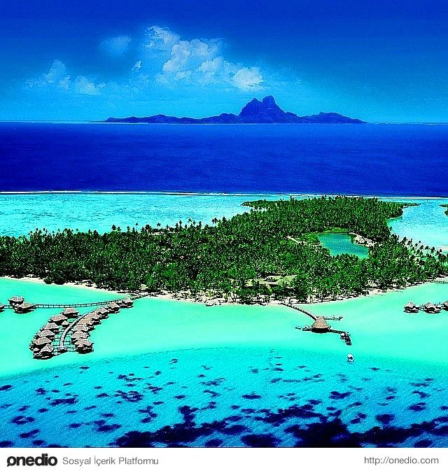 Bora Bora, Leeward Adaları, Güney Pasifik Fransız Polinezyası