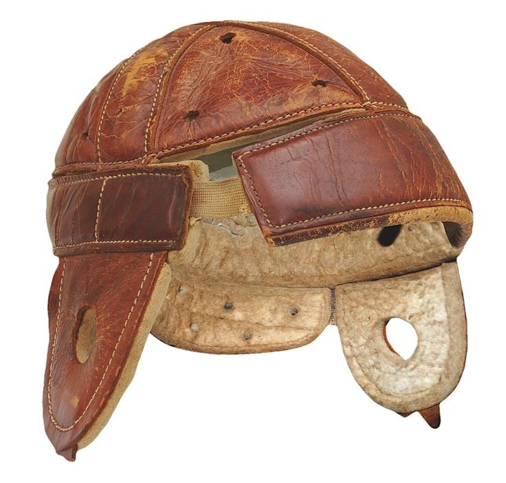 Vintage Leather Football Helmets 102