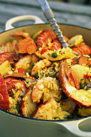 Barbara se seekospaella-pot  | SARIE | The best paella pot #seafood