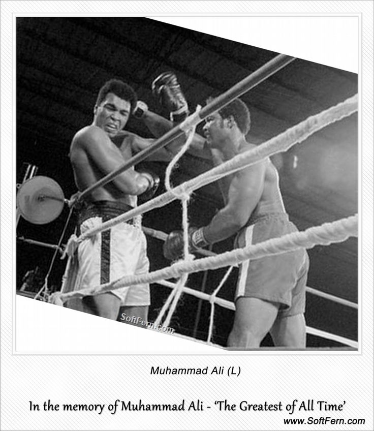Muhammad Ali (L)        Video. In the memory of Muhammad Ali - 'The Greatest of…