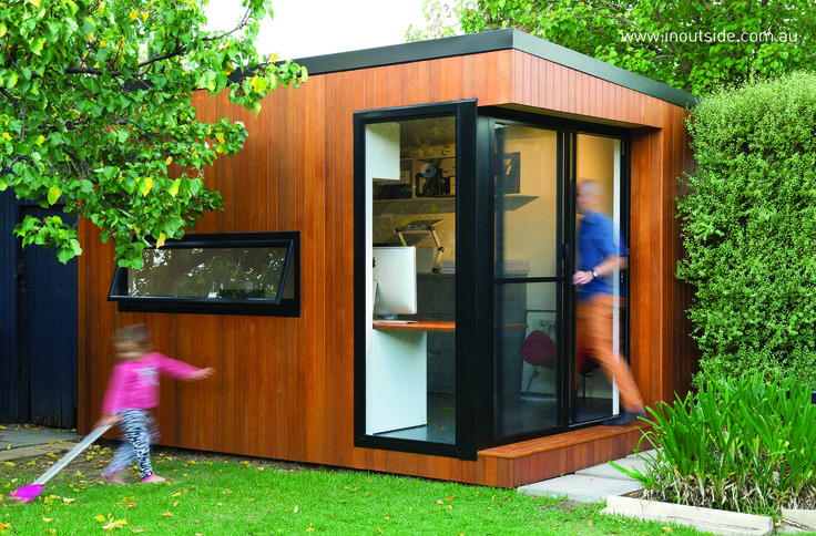 Architects outdoor office #office #home #style #garden